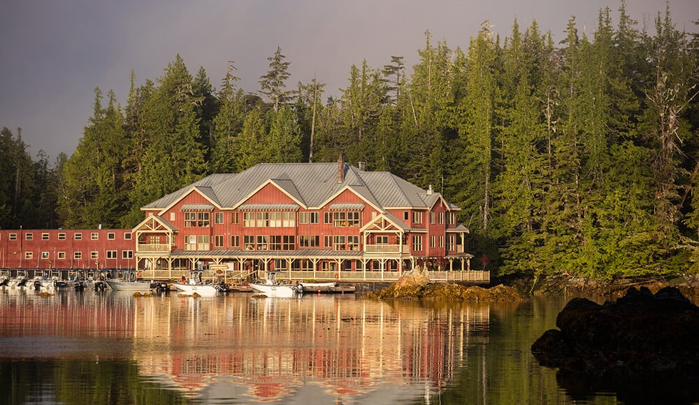 West coast sport fishing at the king pacific lodge for British columbia fishing lodges