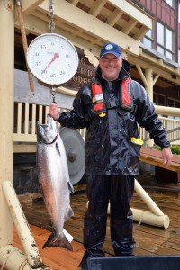 "33 pound ""Tyee"" Chinook"