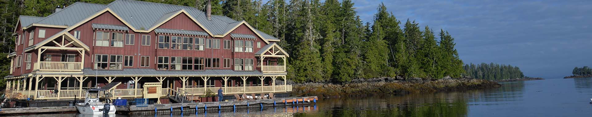 King Pacific Lodge in the Milbanke Sound