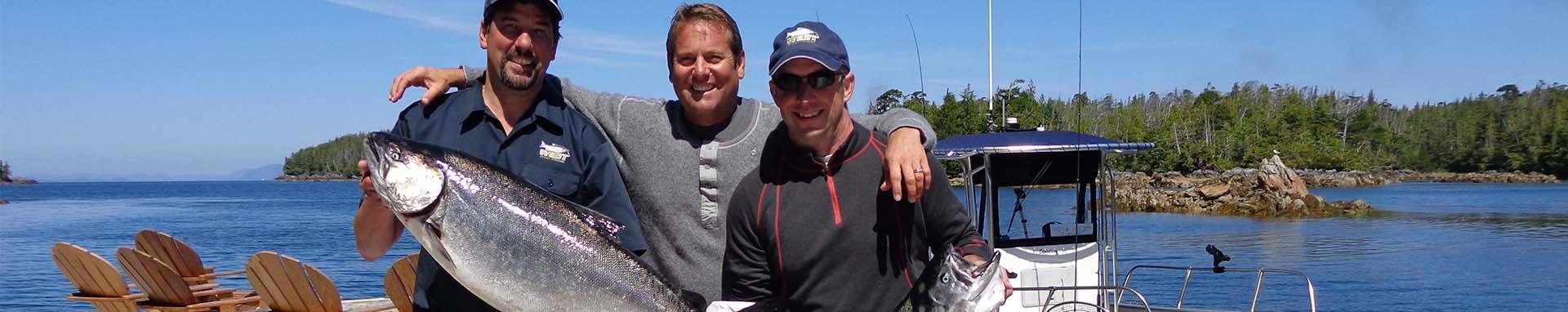 Chinook fishing trips