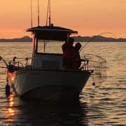 Sunset Fishing Trips in BC