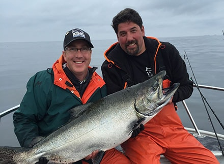 Salmon Fishing in British Columbia